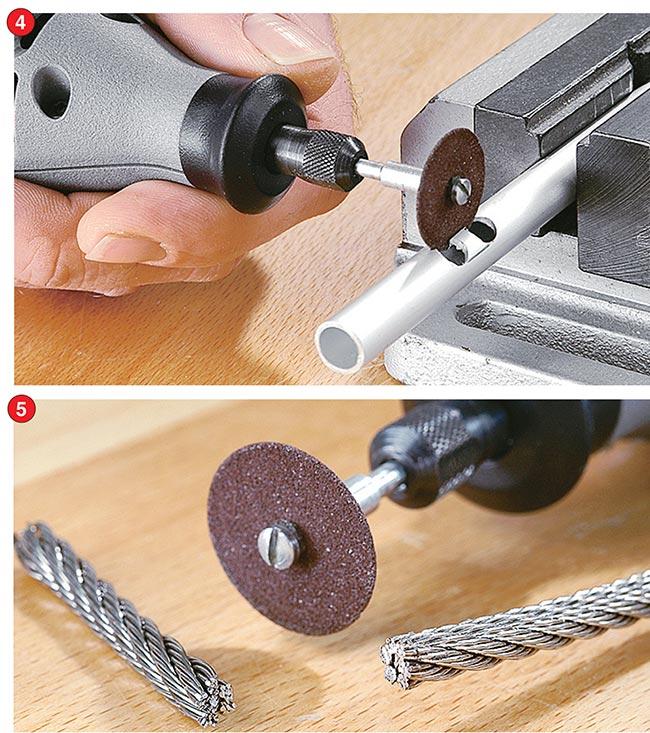 tagliare l'acciaio