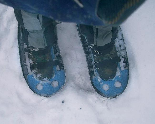 scarponi per ciaspole