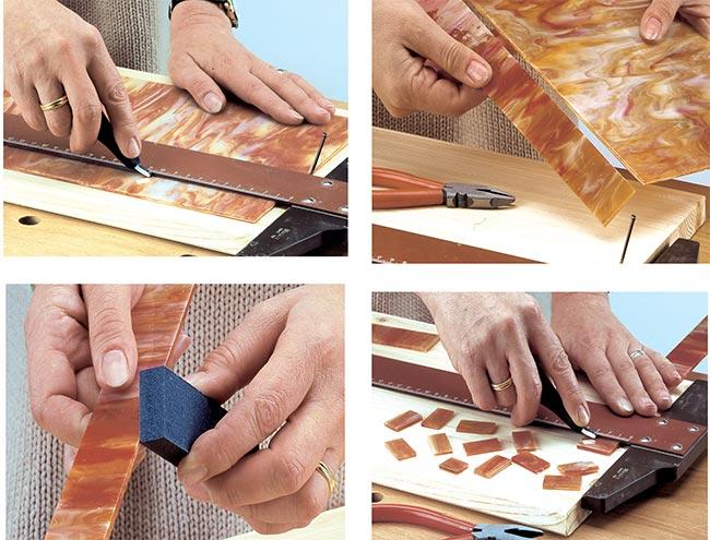 come realizzare tessere mosaico