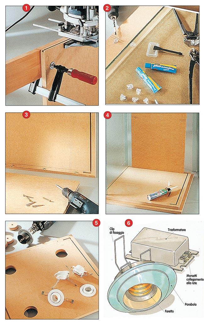 Come costruire una vetrinetta espositiva bricoportale for Costruire una tettoia fai da te