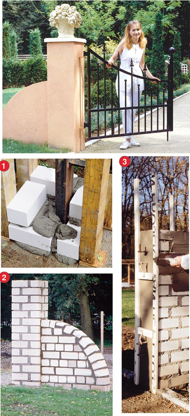 Cancelletti da giardino con pietre bianche per giardino for Cancelli in ferro leroy merlin