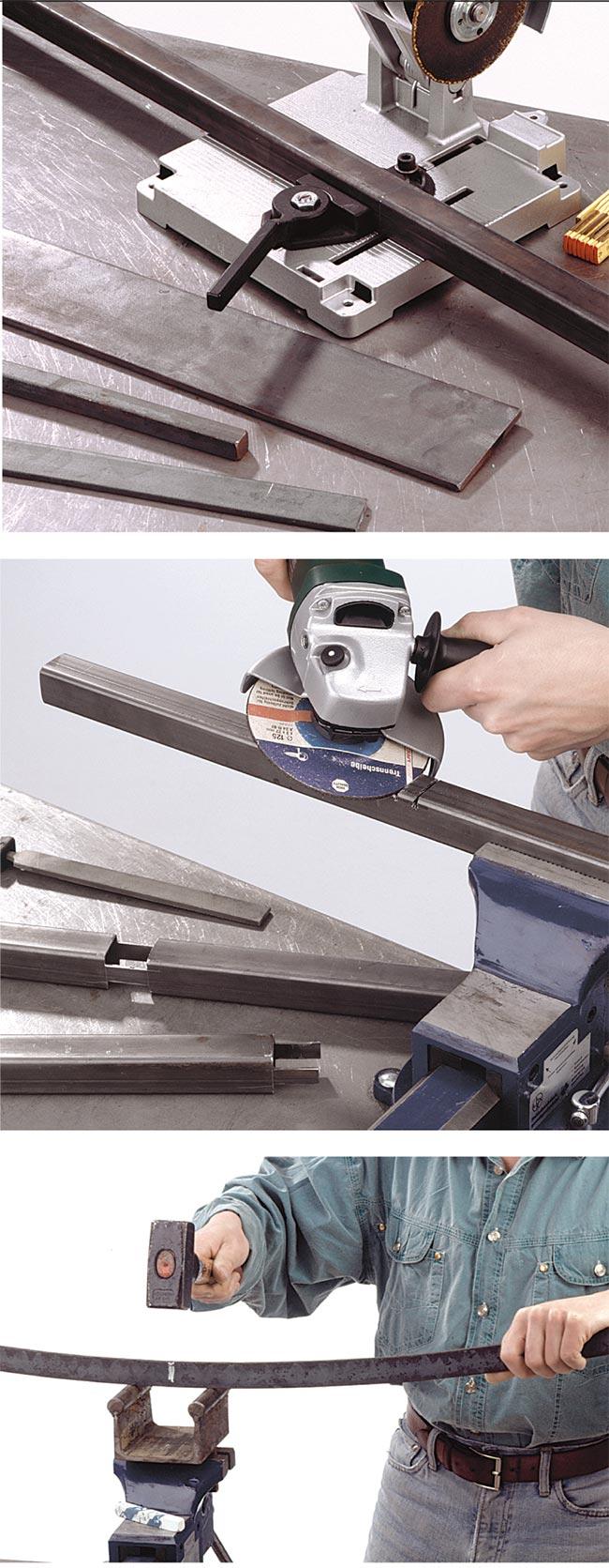 tagliare e curvare il ferro
