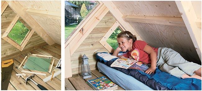 casa di legno per bimibi