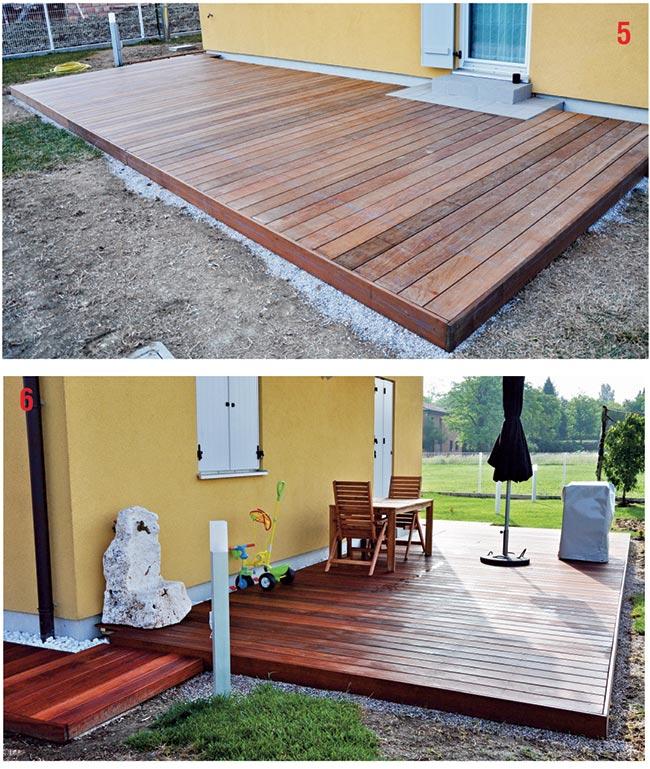 terrazza di legno