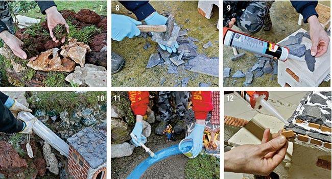 Cascata Giardino Fai Da Te : Presepe per giardino fai da te bricoportale fai da te e bricolage