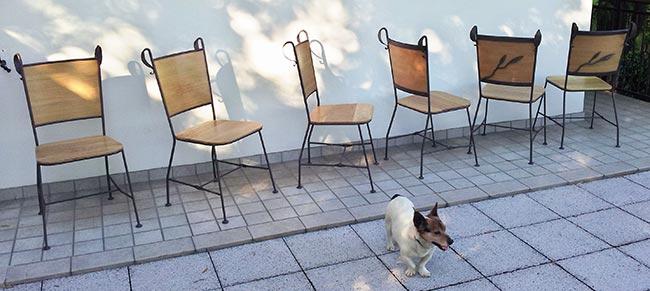 Come costruire sedie in ferro battuto - Bricoportale: Fai da te e ...
