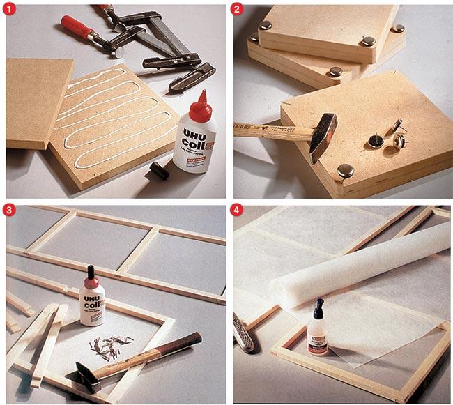 costruzione telaio di legno