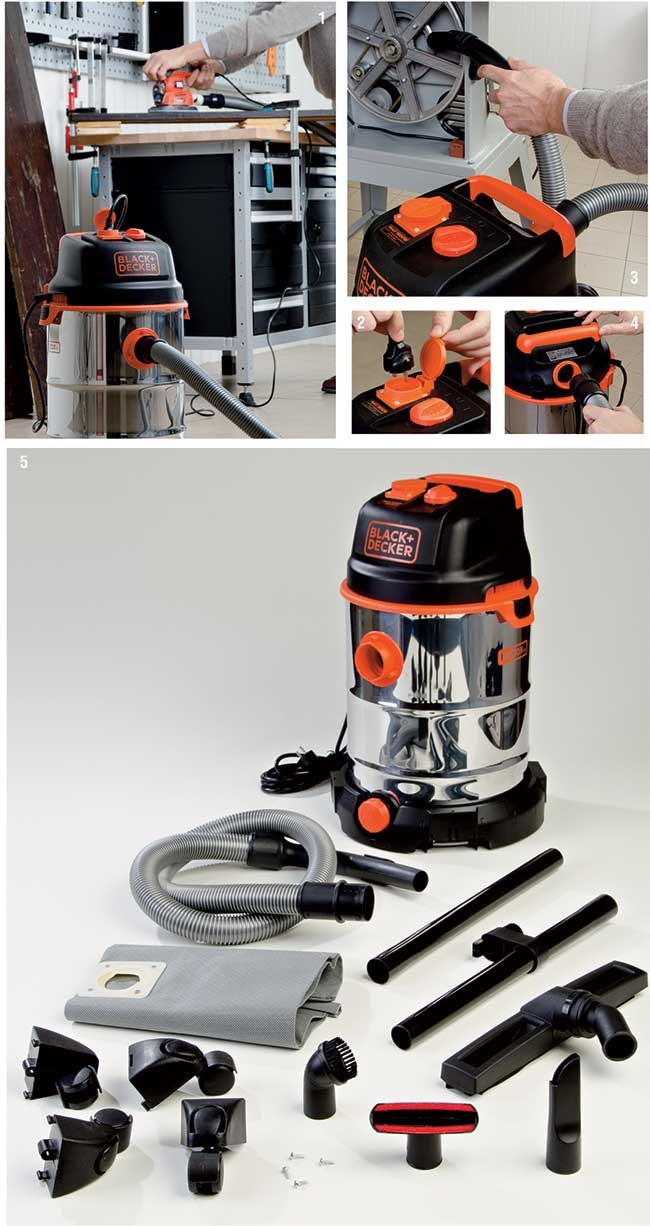 aspiratore Black&Decker