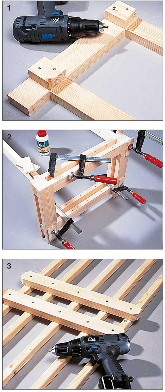 Panca in legno fai da te modulabile costruzione passo for Costruire affumicatore fai da te